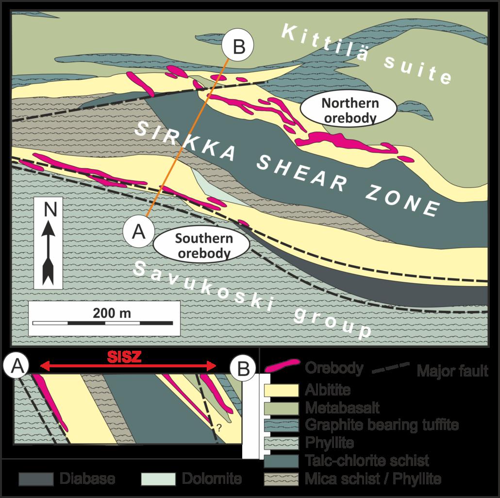 Saattopora map